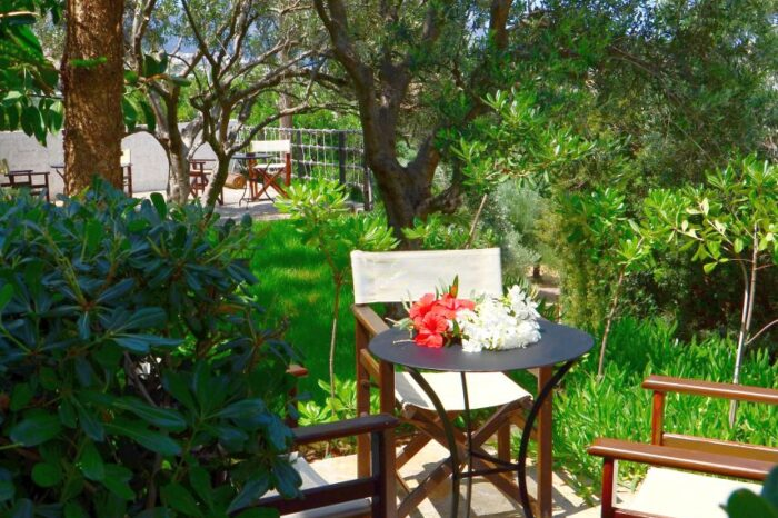 Garden - Golden Apartments Agios Nikolaos Crete