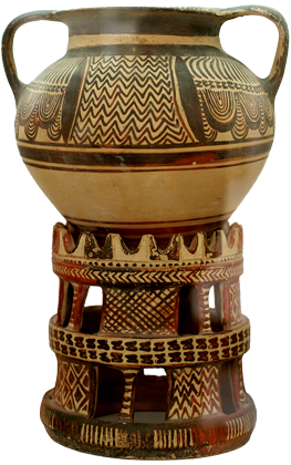 Large pottery for watter, Minoan, Crete, 1350-1300 BC