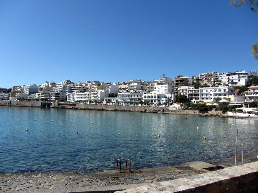 Ammoudi Beach , Agios Nikolaos, Crete